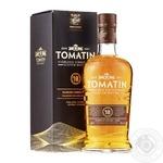 Виски Tomatin 18 лет 46% 0,7л