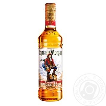 Ромовый напиток на основе Captain Morgan Spiced Gold 35% 0,5 л