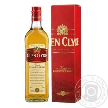 Віскі Glen Clyde 3 роки 40% 0,7л - купити, ціни на МегаМаркет - фото 1