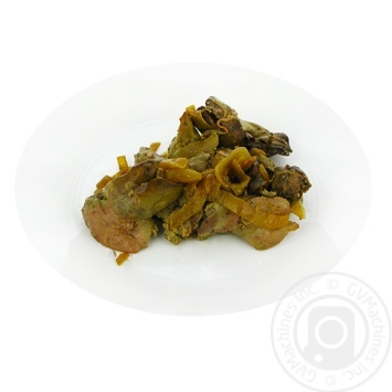 Chicken liver fried with onions - buy, prices for Furshet - image 1