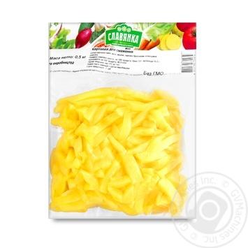 Картофель для жарки Славянка 500г