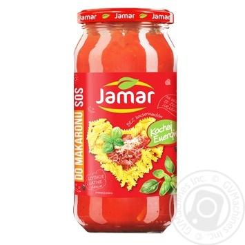 Соус Jamar для макарон 520г - купить, цены на Фуршет - фото 1