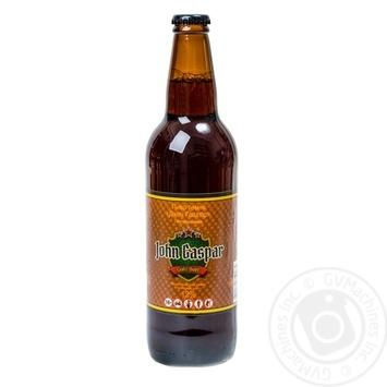 Пиво John Gaspar темне 3.2% 0,5л