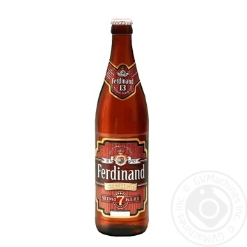 Пиво Ferdinand Ckutecne Sedmi Kuli полутёмное 5.5% 0.5л