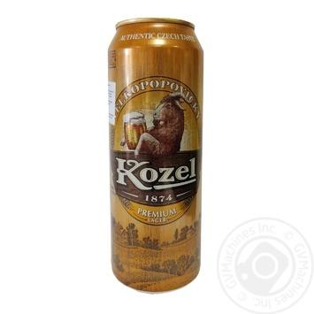 Kozel Premium Lager Light Filtered Beer 4.6% 0.5l