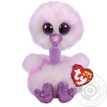 Іграшка м'яка TY Beanie Boo's Лавандовый страус Kenya 36323 15см - купити, ціни на Novus - фото 1
