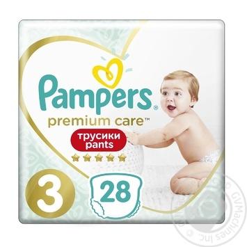 Подгузники-трусики Pampers Pampers Premium Midi 3 6-11кг 28шт