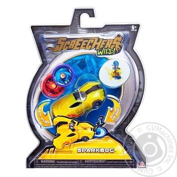 Машинка-трансформер Screechers Wild! L 1 - Спаркбаг - купить, цены на Novus - фото 1