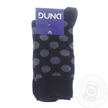 Шкарпетки чоловічі Дюна демі євро-колекція 245 розмір 27-29 чорний