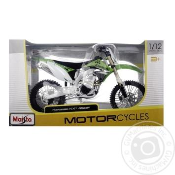 Maisto Motorcycle Kawasaki KX 1:12 31101