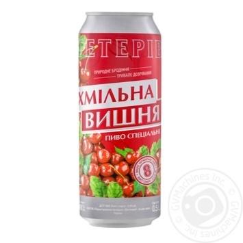 Пиво Тетерев Хмельная Вишня полутемное 8% 0,5л - купить, цены на Novus - фото 1