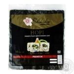Водоросли Shikiko Нори для приготовления суши 10 листов - купить, цены на Фуршет - фото 1