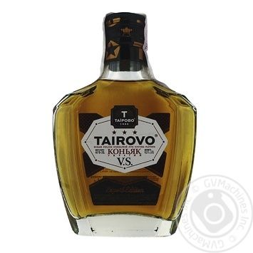 Коньяк Таирово Украина Три звездочки 0.2л - купить, цены на Фуршет - фото 1