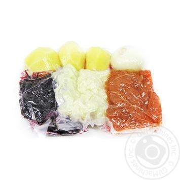 Борщовий набір вакуумна упаковка - купити, ціни на МегаМаркет - фото 1