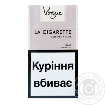 Сигареты Vogue Lilas - купить, цены на Фуршет - фото 2