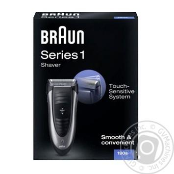 Бритва электрическая Braun Series 1 190S-1 - купить, цены на Фуршет - фото 2