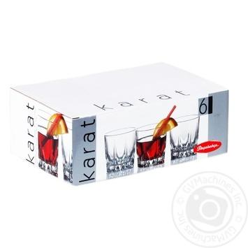 Набор стаканов Pasabahce Karat для сока 210мл 6шт 52886