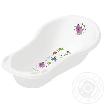 Hippo for babies white bath 100cm - buy, prices for MegaMarket - image 1