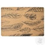 Сервірувальний килимок МД пробка Перо 30х45см