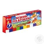 Plasticine Mitsar 7colours for children's creativity Ukraine - buy, prices for Furshet - image 1
