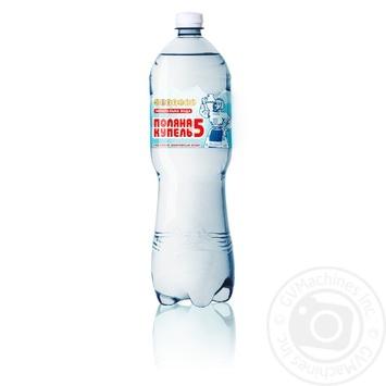 Вода Поляна Купель газована лікувально-столова 1,5л - купити, ціни на Фуршет - фото 2