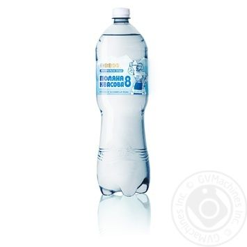 Polyana kvasova Sparkling medical-table mineral water 1,5l - buy, prices for MegaMarket - image 1