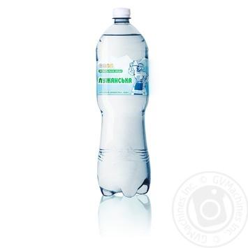 Вода Алекс Лужанская минеральная лечебная 1,5л - купить, цены на Novus - фото 1
