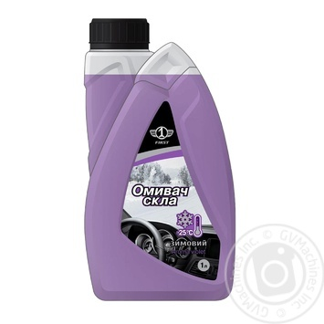 1 First Washer glass Aroma violet-25C 1l - buy, prices for Furshet - image 1