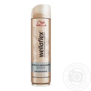 WELLAFLEX GLOSS AND FIXATION Hairspray Super-strong fixation 250ml - buy, prices for Furshet - image 1