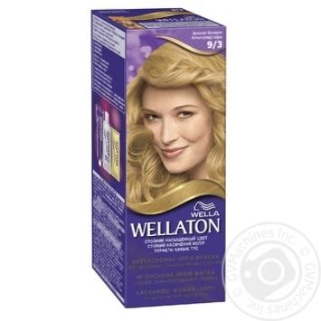 Permanent Wellaton Cream Color - golden blond 9/3 - buy, prices for Novus - image 1