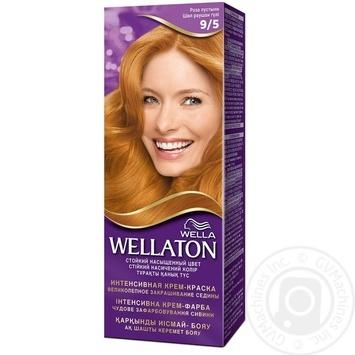 Крем-краска для волос Wella Wellaton 9/5 Роза пустыни - купить, цены на Novus - фото 1
