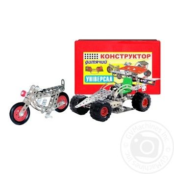 Children's Toy Constructor metal - buy, prices for Furshet - image 1