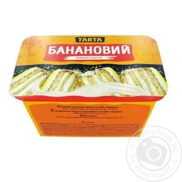 Торт Tarta Банановый 370г - купить, цены на СитиМаркет - фото 1