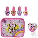 Детский набор лаков для ногтей Markwins Minnie с футляром 1599042E