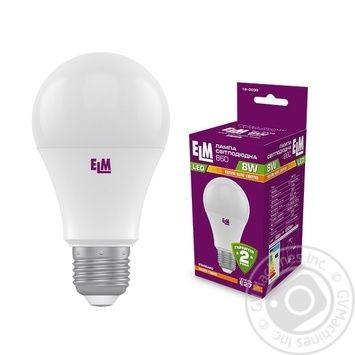 Лампа ELM LED B60 8W PA10S E27 3000 18-0185 - купить, цены на МегаМаркет - фото 2