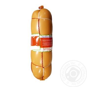 Ковбаса Фуршет Делікатесна з молоком варена перший гатунок - купити, ціни на Фуршет - фото 1