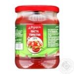 Tomato paste Furshet 500g glass jar