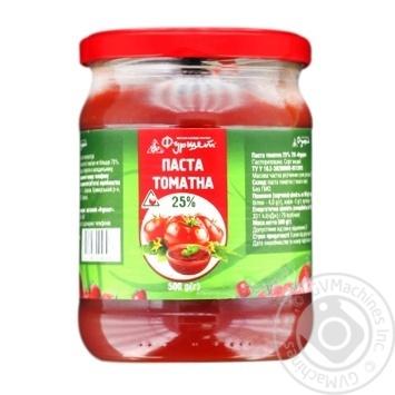 Furshet Tomato Paste 25% 500g - buy, prices for Furshet - photo 1