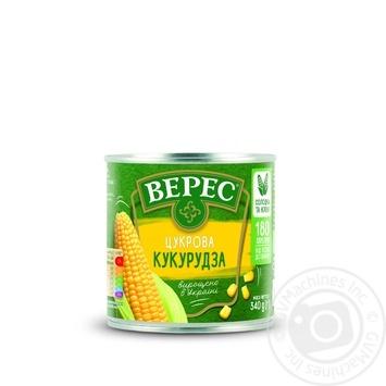 Кукуруза Верес сахарная 340г - купить, цены на Ашан - фото 7