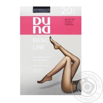 Duna Black Women's Tights 20den 4s - buy, prices for Furshet - image 1