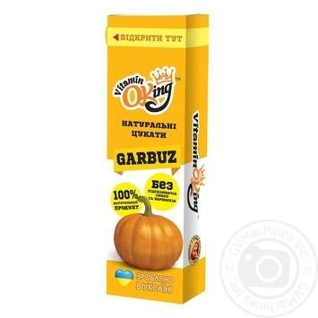 Цукати Vitaminoking Гарбуз 40г - купити, ціни на МегаМаркет - фото 1