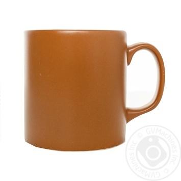 Чашка керамическая Keramia Терракота 355мл