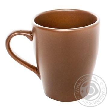 Чашка керамическая Keramia Табако 300мл