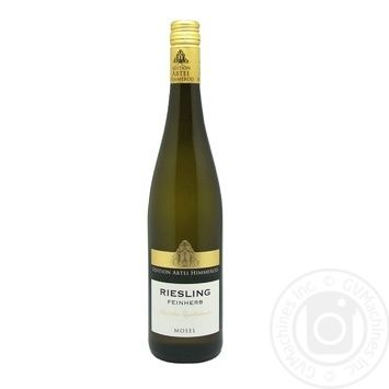 Вино Riesling Fineh 2016 біле напівсухе 0,75л - купити, ціни на CітіМаркет - фото 1