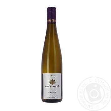 Вино P.Sparr Рислинг белое сухое 0.75л - купить, цены на Фуршет - фото 1