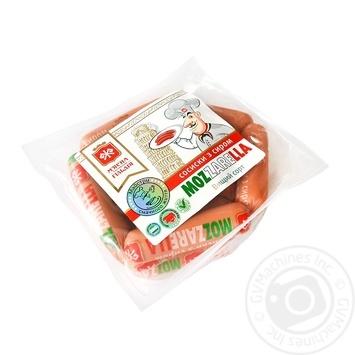 Сосиски М'ясна Гільдія з сиром моцарелла вищий гатунок - купити, ціни на Фуршет - фото 1