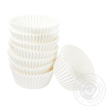 Набор форм Меломан для кексов бумажные 100шт - купить, цены на Фуршет - фото 1
