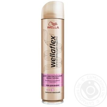 Wellaflex Strong Fixation For Hair Lacquer - buy, prices for Auchan - photo 2