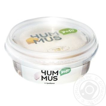 Yofi Hummus chickpeas appetizer with mushrooms 250g - buy, prices for Furshet - image 1