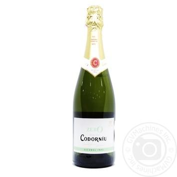 Вино игристое Codorniu Zero 0.05% 0,75л - купить, цены на Восторг - фото 1